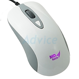 USB Optical Mouse MD-TECH (MD-109) White