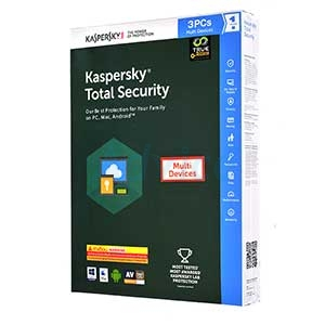 Kaspersky Total Security 2017 (3Desktop)