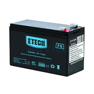 Battery 7Ah 12V ETECH