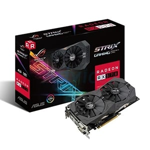 4GB GDDR5 AMD RX570 ASUS STRIX Gaming