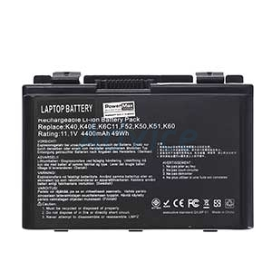 Battery NB ASUS K40IN Hi-Power