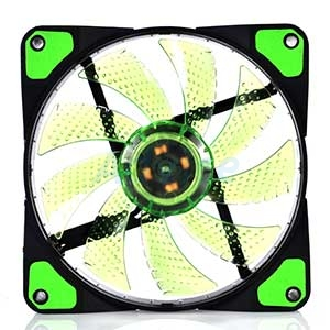 FAN CASE '12cm' Nubwo Airforce Green LED