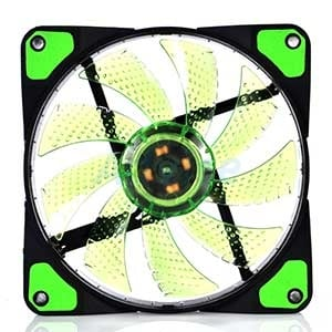 FAN CASE 12cm NUBWO Airforce Green LED