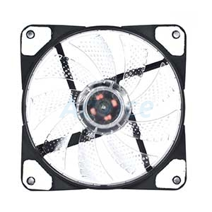 FAN CASE '12cm' Nubwo Airforce Transparent LED