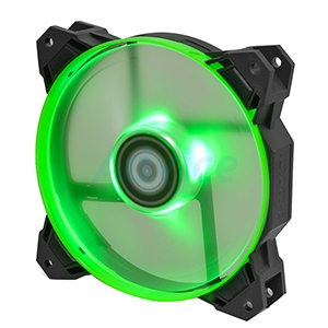 FAN CASE ID Cooling 120mm Riing SF-12025 (Green LED)