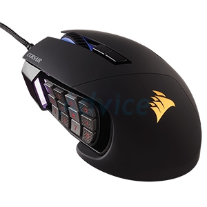 OPTICAL MOUSE CORSAIR Scimitar Pro RGB (Black)