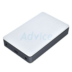 Enclosure 3.5'' SATA ORICO MD35 U3 USB3.0 (Silver)