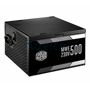 PSU (80+ White) COOLERMASTER MWE500 (500W.)