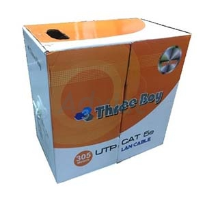 CAT5e UTP Cable (305m./Box) THREE BOY