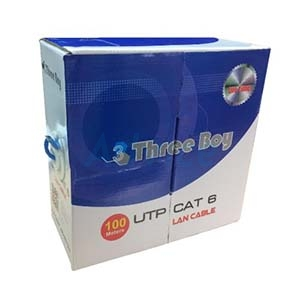 CAT6 UTP Cable (100m./Box) THREE BOY