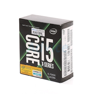 CPU Intel Core i5 - 7640X (Box No Fan Ingram/Synnex)