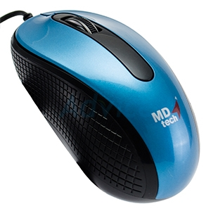 USB Optical Mouse MD-TECH (MD-18) Blue/Black