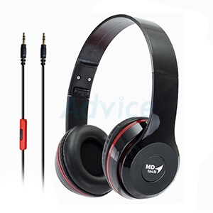 HeadSet MD TECH HS6 (Black)