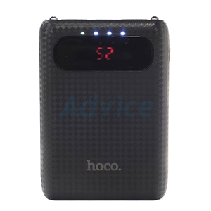 POWER BANK 10000 mAh LCD 'HOCO' (B20) Black