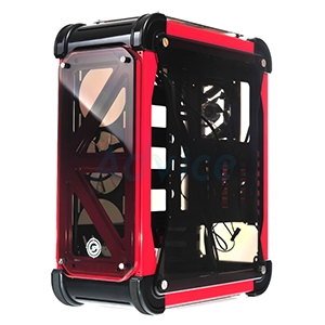 ATX Case (NP) NEOLUTION E-SPORT Galaxtix (Black-Red)