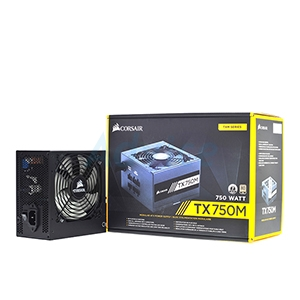 PSU (80+ Gold) Corsair TX750m (750w.)
