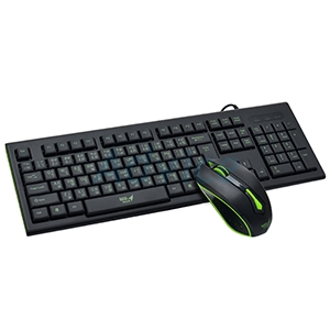 (2in1) USB MD-TECH (K16/M-61) Black/Green
