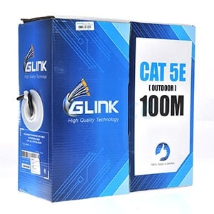 CAT5e UTP Cable (100m/Box) GLINK Outdoor (GL5002)