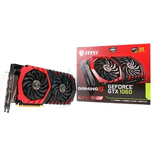 6GB GDDR5 GTX1060 MSI Gaming X VR