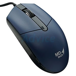 USB Optical Mouse MD-TECH (MD-17) Black/Blue
