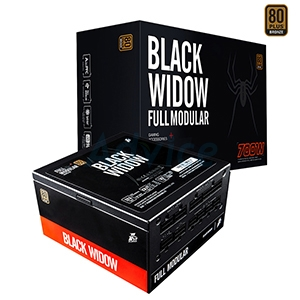 PSU (80+ Bronze) Tsunami Black Widow 700w.