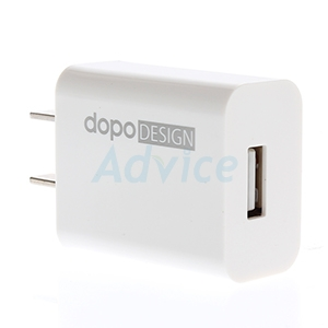 Adapter USB Charger + Micro USB Cable (D-UC11) 'DOPO' White