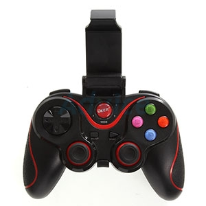 JoyStick Bluetooth OKER BT-073 (Black/Red)
