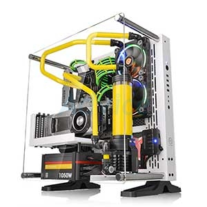 ATX Case (NP) Thermaltake Core P3 Snow Edition