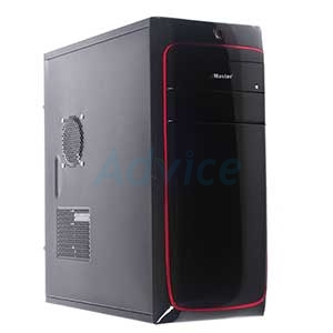 ATX Case (NP) eMaster EMT-E5433-R (Black-Red)