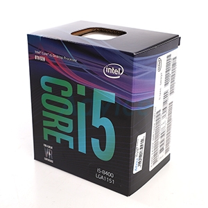 CPU Intel Core i5 - 8400 (Box Ingram/Synnex)