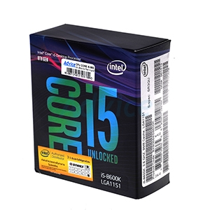 CPU Intel Core i5 - 8600K (Box No Fan Ingram/Synnex)