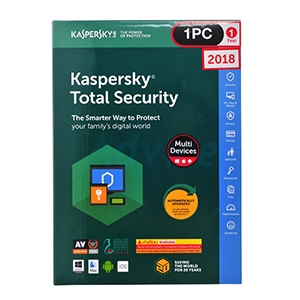 Kaspersky Total Security 2018 (1Desktop)