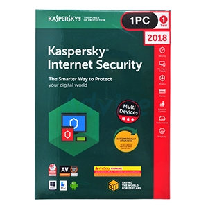 Kaspersky Internet Security 2018 (1Desktop)