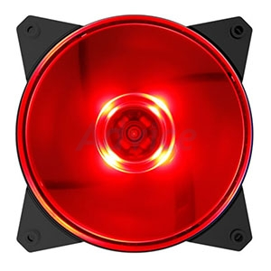 FAN CASE COOLER MASTER 120mm Masterfan MF120L (Red LED)
