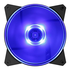 FAN CASE COOLER MASTER 120mm Masterfan MF120L (Blue LED)