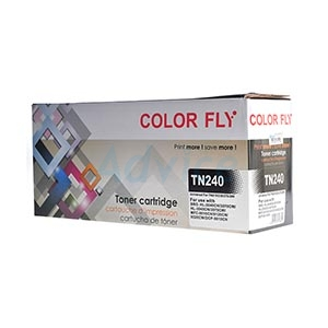 Toner-Re BROTHER TN-240 BK - Color Fly