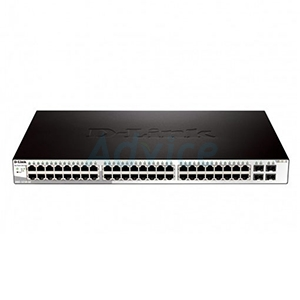 Gigabit Switching Hub D-LINK (DGS-1210-52) 48 Port + 4 Port Gigabit SFP (17