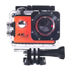 Action Camera 'HIKARI' V5 Pro 4K (Orange)