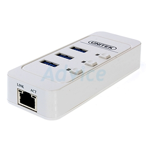 3 Port USB HUB V3.0 + Gigabit Ethernet