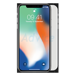 IPHONEX 64GB. (True  Silver)
