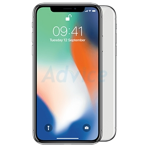 IPHONEX 256GB. (True  Silver)