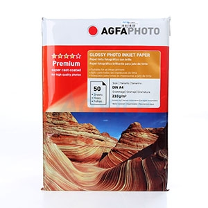 AGFA Photo Inkjet Glossy A4 210G. (50/Pack)