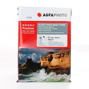 AGFA Photo Inkjet Glossy A4 240G. (50/Pack)