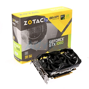 3GB GDDR5 GTX1060 ZOTAC Amp Core Edition
