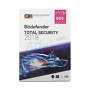 Bitdefender Total Security 2018 (1Desktop)
