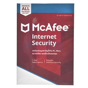 McAfee Internet Security (1Desktop)