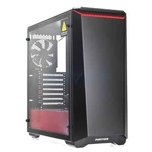 ATX Case (NP) Phanteks P400 (Black/Red)