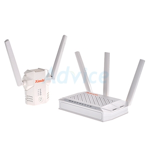 Router KASDA (KW6512) Wireless AC750 Dual Band + Range Extender KASDA (KW5583) N300 (Lifetime Foreve