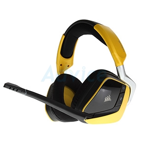 HEADSET (7.1) CORSAIR Void Pro RGB Wireless (Speacial Yellow)
