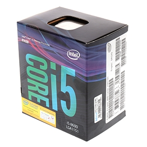 CPU Intel Core i5 - 8600 (Box Ingram/Synnex)